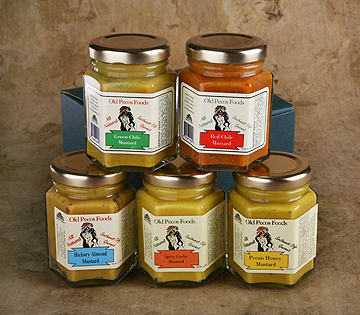 Variety 5 pack of mustards